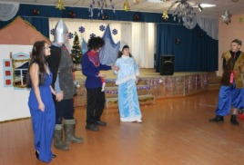 Новогоднее представление для 5-11 классов