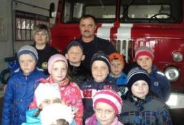« Экскурсия в пожарную часть. Пожарная машина»